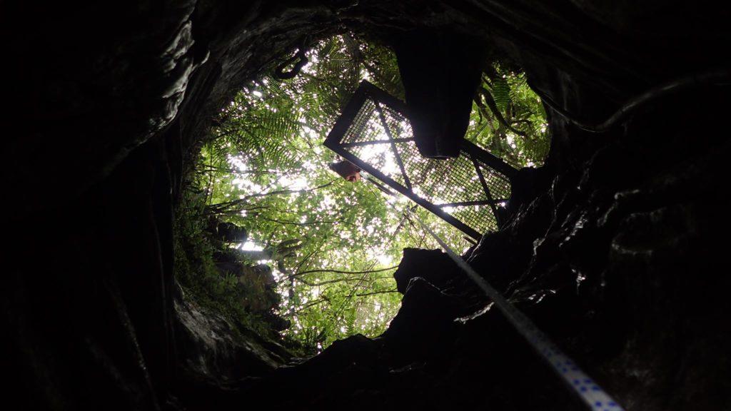Cave Climbing