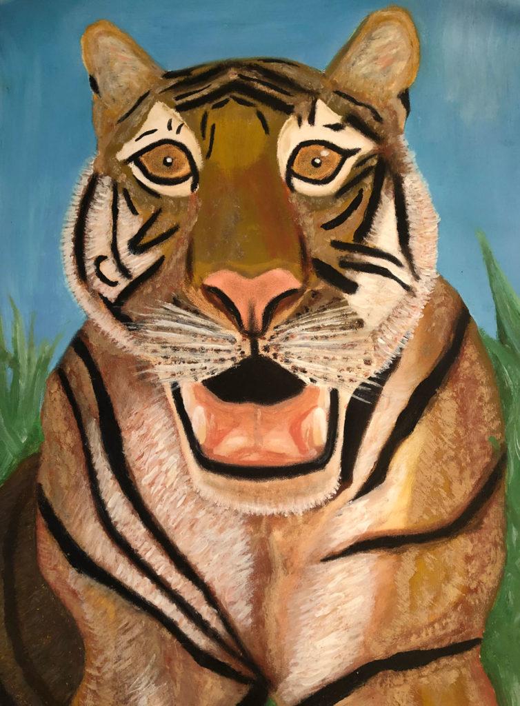 Tiger roar 01
